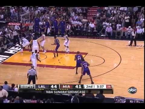 KOBE VS. LEBRON (Kobe Puts A Killer Crossover On Lebron)