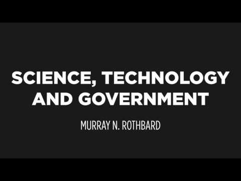 Science, Technology & Government | Murray N. Rothbard.