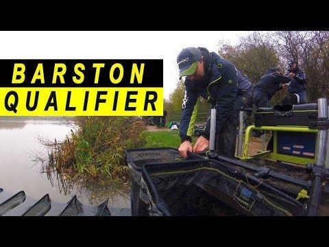 BARSTON £12,000 GOLDEN ROD FEEDER QUALIFIER LIVE MATCH - FEEDER FISHING