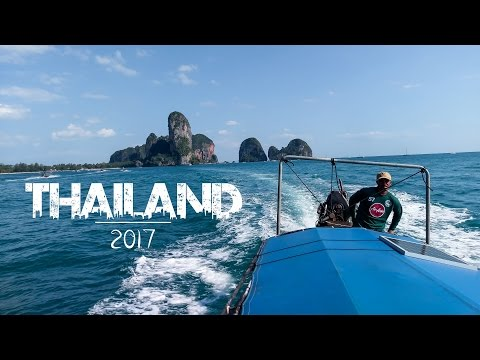 Island Hopping in Thailand 2017 | GoPro Hero 5 Full HD Travel Video