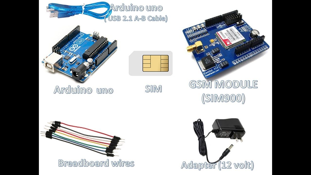 Arduino uno with GSM module(SIM900)- Sending SMS