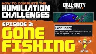 Блек ОПС 3 Як Робити Виклики Приниження - ''Gone Рибалка Виклик'' (Глибина''Безкоштовно Медалі'')