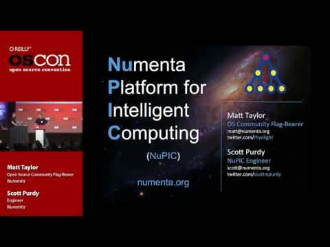 NuPIC at OSCON 2013
