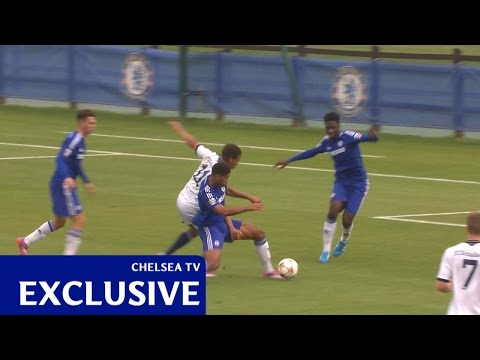 Loftus-Cheek's run leading to Solanke's goal v Schalke (H) UYL 14/15