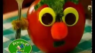 Салат из капусты и яблок. Вкусные истории.