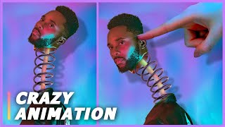 I Created a CRAZY ANIMATION using Photoshop and After Effects