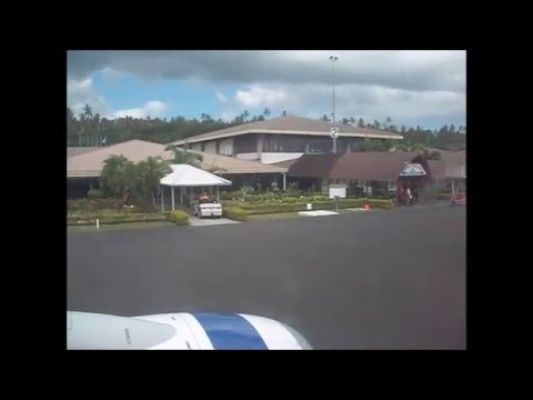 Samoa - Arrival at Faleolo International Airport
