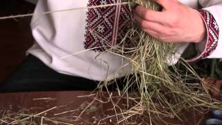 Ремёсла: Плетение из сухих луговых трав-сена