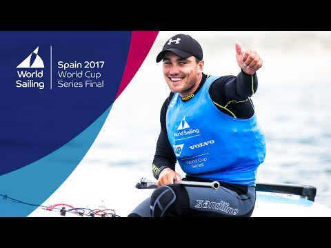 Full Finn Medal Race from the World Cup Series Final in Santander 2017