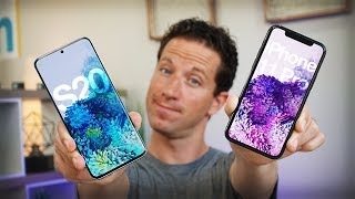 I'm Switching BACK to Android! Galaxy S20 vs iPhone 11 Pro: 40 Pros & Cons