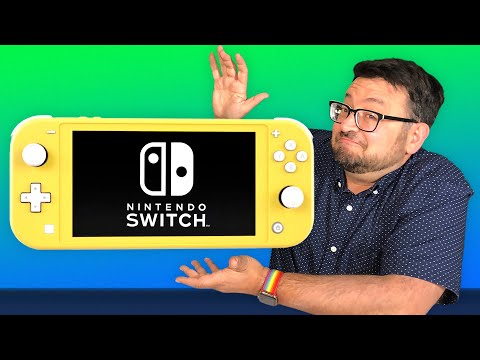 What it's like to play Nintendo Switch Lite