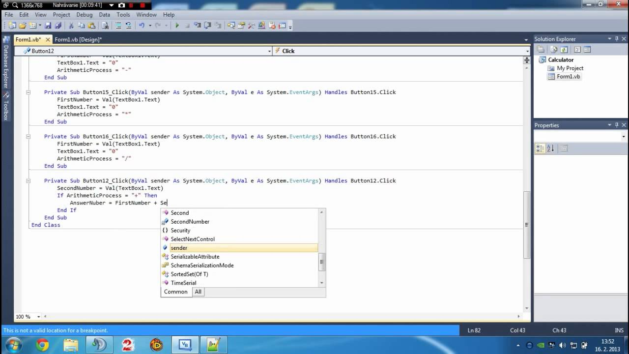 Create database in microsoft visual studio the engineering projects.