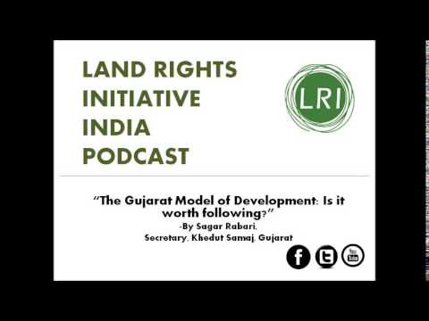 4.2: LRI speaker series: Talk 2, Gujarat model of development by Sagar Rabari, 20 April 2015