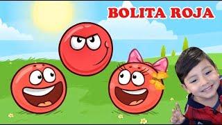 La Bolita Roja en la Cueva | Juego para niños Red Ball 4 | Juegos Infantiles para niños
