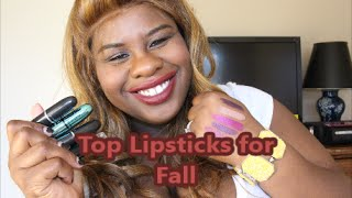 Top Lipsticks for Fall colab with Thebeautymaine Thumbnail