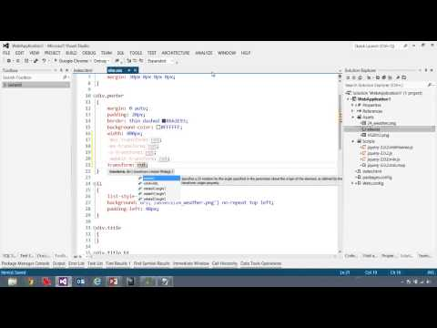 JSinSA  Visual Studio
