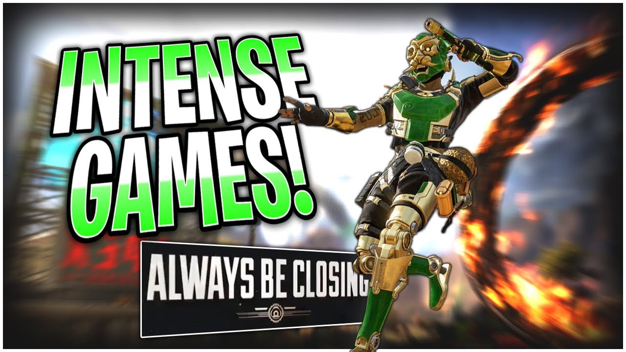 The MOST INTENSE Games in the New Mode! Always Be Closing Evolved (Apex Legends)