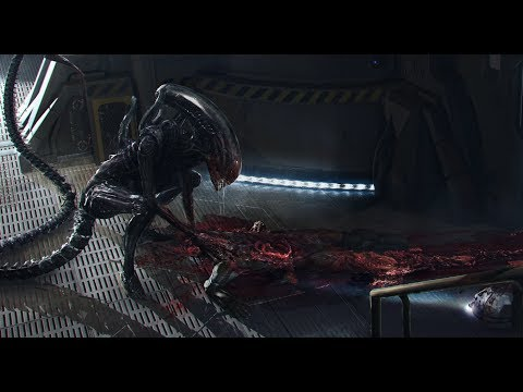 Alien Covenant All Death Scenes in Digital HD (kill count)