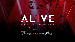 Alive Events Agency Showreel 2020 | The Experience Is Everything
