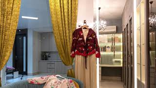 Shalimar bagh Home Interior | New Delhi Home Salon interior and furniture Executed By Lakkadworks