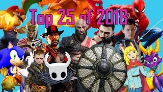 Top 25 Games of 2018 [PS4, Switch, Xbox One, & PC]