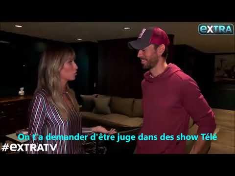 Enrique Iglesias - Interview pour Extra (LA, Nov. 2017) French ss