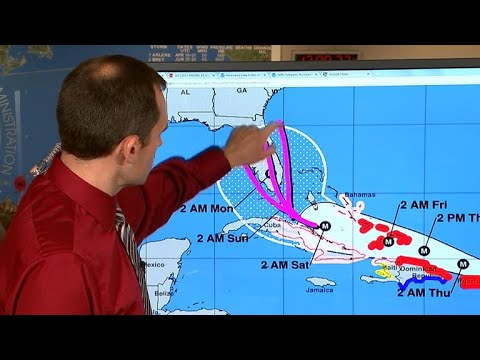 Hurricane Irma makes landfall in the Caribbean