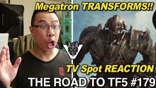 REACTION to Megatron Transforming in