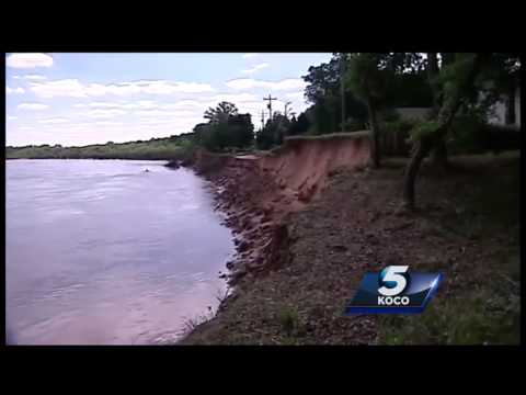 Many Oklahoma dams in danger following state's record rainfall