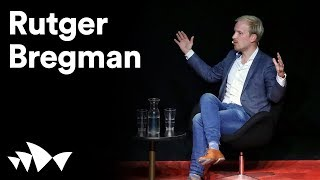 Rutger Bregman on universal basic income | #ANTIDOTE | Sydney Opera House