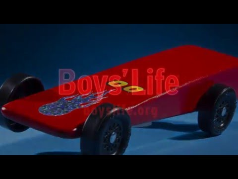How to Finish a Pinewood Derby Car the Right Way - YouTube
