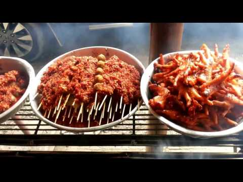 Various Street foods In Asian Countries, Cambodia Street Food