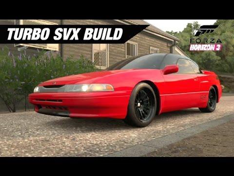 Twin Turbo Subaru Svx Build