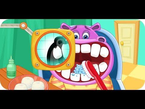 Children's doctor Dentist Gameplay Kids Games