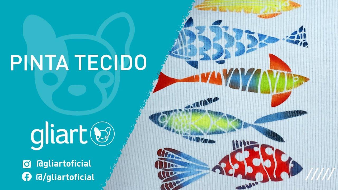 DIY | PINTA TECIDO GLIART