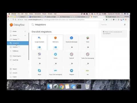 Building A Chatbot With Dialogflow And Google Cloud Platform