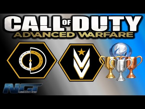 Call of Duty: ADVANCED WARFARE Trophy Achievement Guide▐ Class Warfare & Exo Survival Veteran