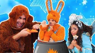 نطنط وأرنوب - الدبدوب الجوعان 🐻 Natnat & Arnoob - The Hungry Bear