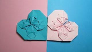 ЗАКЛАДКА СЕРДЕЧКО.Оригами Своими Руками из Бумаги для Начинающих. Видео(В этом видео я научу Вас делать своими руками оригами для детей - ЗАКЛАДКА СЕРДЕЧКО. Эта поделка из бумаги..., 2014-12-19T18:15:48.000Z)