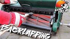 BACKLAPPING -  der RASENFREAK schleift seine Spindelmäher Messer