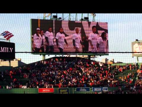Red sox nation boston strong tribute