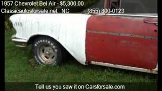1957 Chevrolet Bel Air Wagon for sale in Nationwide, NC 2760 #VNclassics
