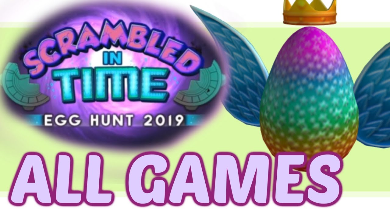 Roblox Easter Egg Hunt 2019 Youtube Roblox Free Kid Games - 2019 Roblox Egg Hunt Leaks Part 3 Youtube