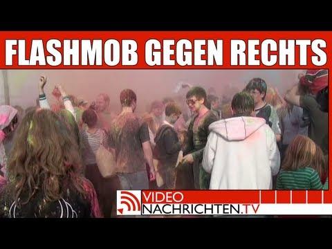 Demo gegen Rechts. Hunderte nahmen am Flashmob teil - Nachrichten aktuell