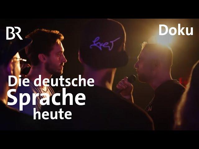 Die deutsche Sprache: Eine Dokumentation zwischen Rap und gendergerechter Sprache | Doku | BR
