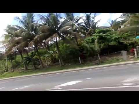 Driving in Suva City, Fiji