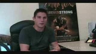 Sean Faris Exclusive Interview for Forever Strong (Part 1)