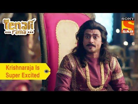 Your Favorite Character   Krishnaraja Is Super Excited   Tenali Rama