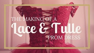 Dressmaking: Lace & Tulle Tutu Prom Dress