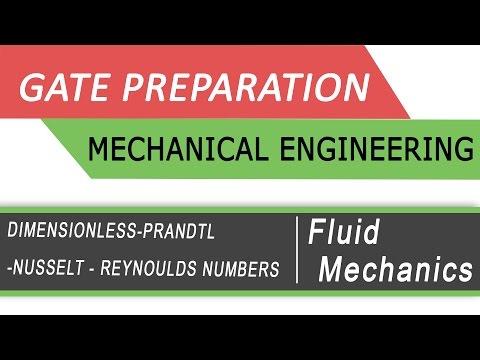 Dimensionless, Prandtl,  Nusselt Numbers :Fluid Mechanics (Best Gate Preparation videos by NPTEL)
